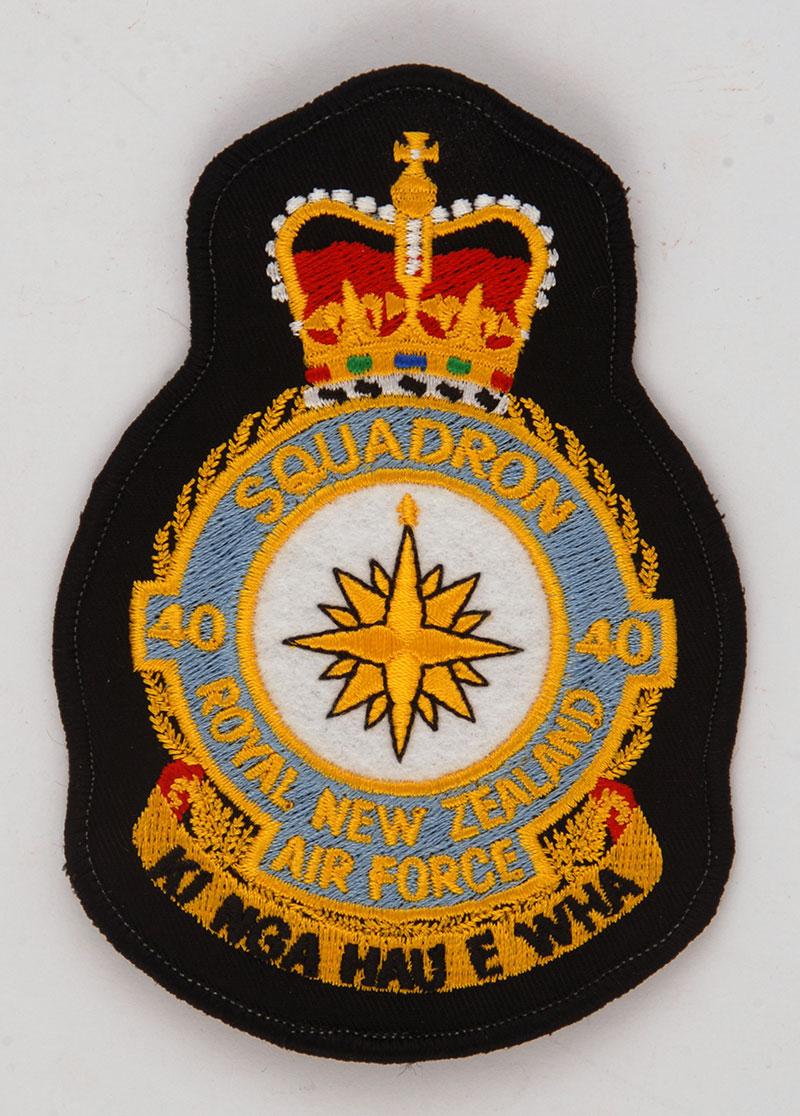 No 40 Squadron Rnzaf Patch Air Force Museum