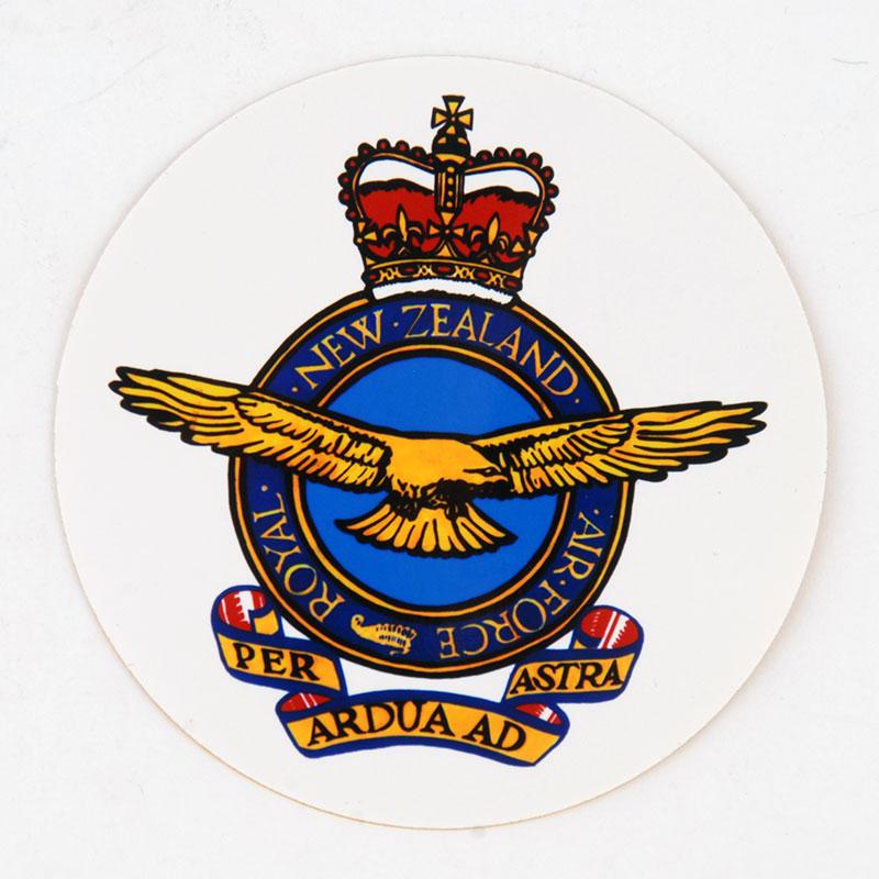 RNZAF crest sticker