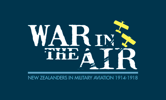 War in the Air Exhibition Banner
