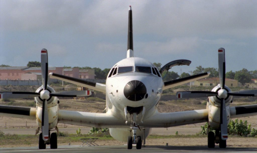 RNZAF Andover Transport Aircraft In Mogadishu