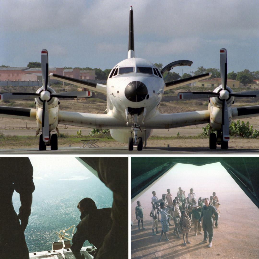 RNZAF In Mogadishu, 1993