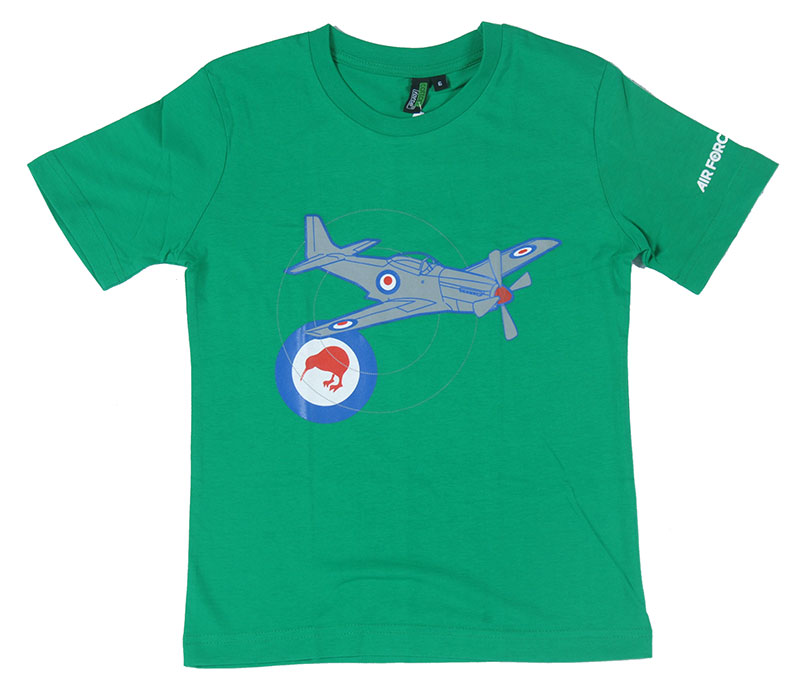 4109675e41a2 Mustang aircraft and roundel T-Shirt Kids - Air Force Museum