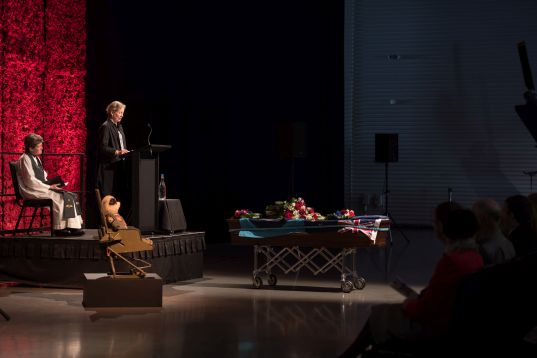 Executive Director of Museums Aotearoa, Phillipa Tocker. Image: NZDF Official.