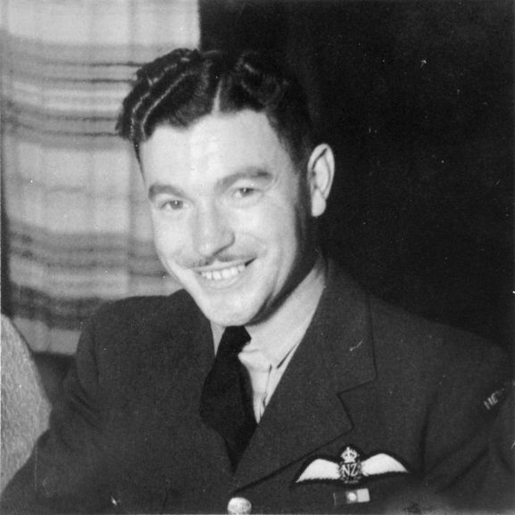Flight Lieutenant Edward Francis Edwards. From the collection of the Air Force Museum of New Zealand.