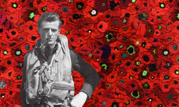 Image Poppies with George