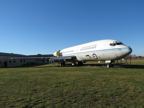 NZ7272 parked up at RNZAF Base Woodbourne in 2012. Image: Air Force Museum of New Zealand.
