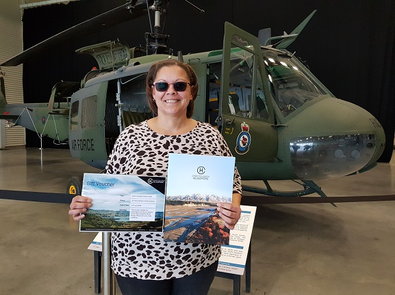 The winner of our Helicopter Hunt competition.