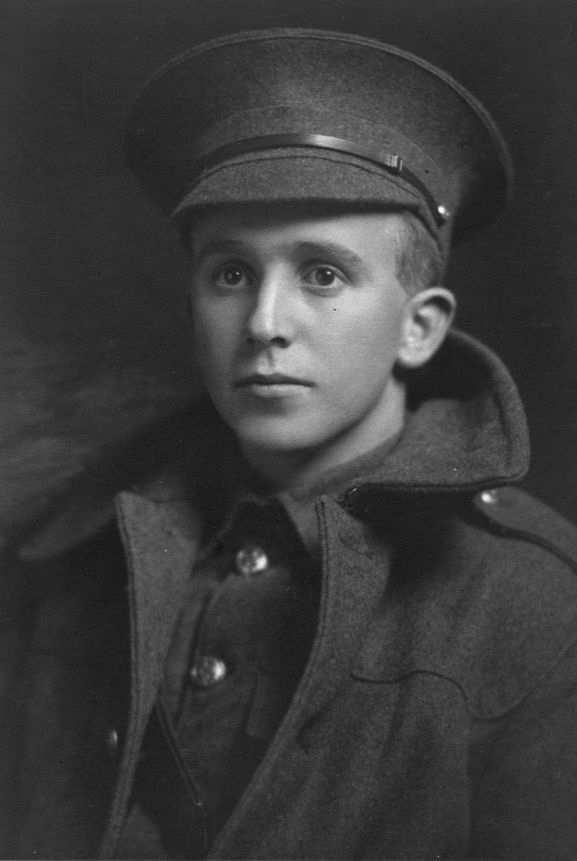 Portrait of Henry Clifford Leese 21/13, New Zealand Army. From the collection of the Air Force Museum of New Zealand.