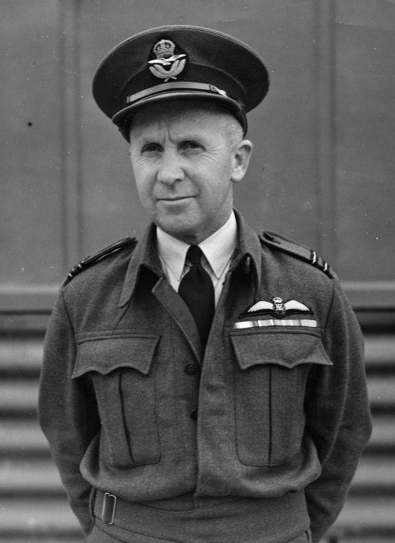Flight Lieutenant Harry Leese, adjutant, RNZAF Bell Block, 1942.
