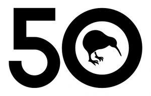 KIWIS 50TH logo
