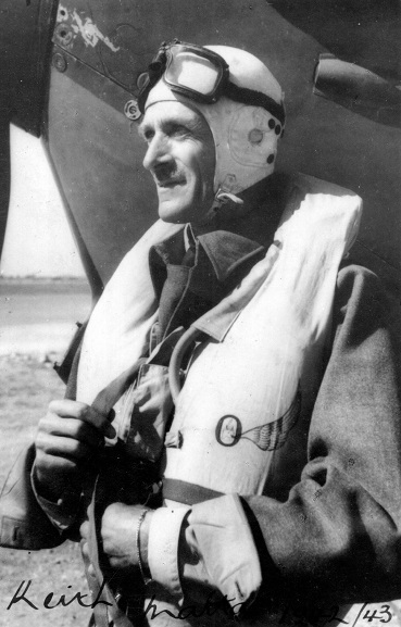 The 'Defender of London' – New Zealander Air Vice-Marshal Sir Keith Park, whose role as commander of RAF Fighter Command's No. 11 Group was instrumental during the Battle of Britain.