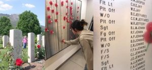 War graves and roll of honour